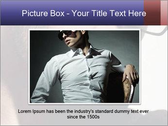 Fashion eyeglasses PowerPoint Templates - Slide 15