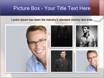Fashion eyeglasses PowerPoint Template - Slide 19
