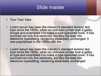 Fashion eyeglasses PowerPoint Templates - Slide 2