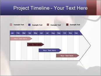 Fashion eyeglasses PowerPoint Templates - Slide 25