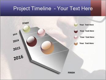 Fashion eyeglasses PowerPoint Templates - Slide 26