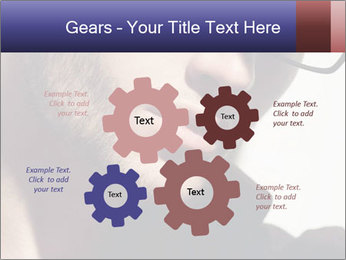 Fashion eyeglasses PowerPoint Templates - Slide 47