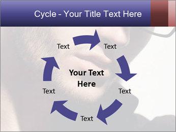 Fashion eyeglasses PowerPoint Templates - Slide 62