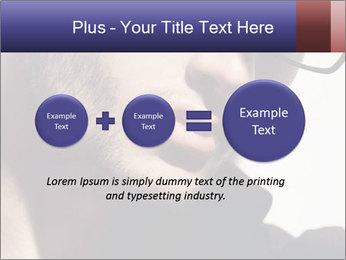 Fashion eyeglasses PowerPoint Templates - Slide 75