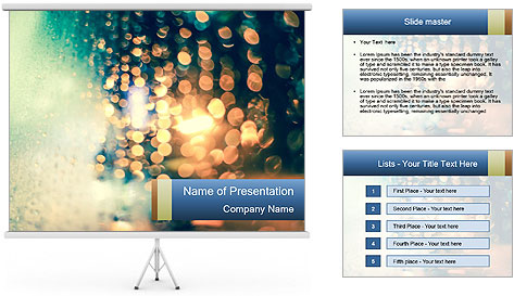 Artistic style PowerPoint Template