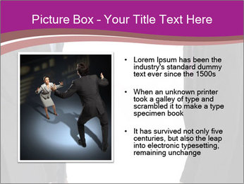 Businessman and businesswoman PowerPoint Template - Slide 13