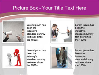 Businessman and businesswoman PowerPoint Template - Slide 14