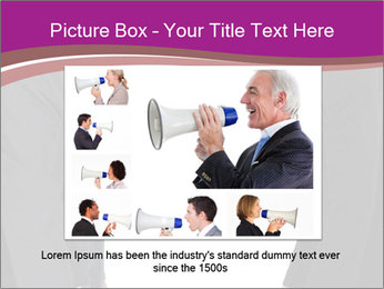 Businessman and businesswoman PowerPoint Template - Slide 15