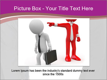 Businessman and businesswoman PowerPoint Template - Slide 16