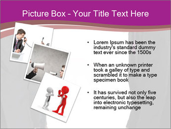 Businessman and businesswoman PowerPoint Template - Slide 17