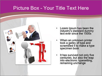 Businessman and businesswoman PowerPoint Template - Slide 20