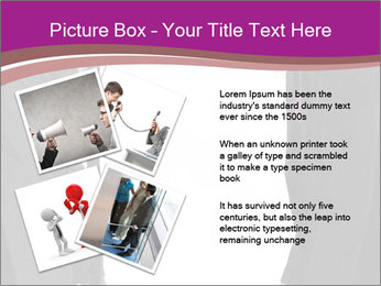 Businessman and businesswoman PowerPoint Template - Slide 23