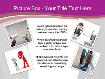 Businessman and businesswoman PowerPoint Template - Slide 24