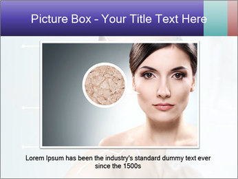 Beauty woman on the bathroom PowerPoint Templates - Slide 15