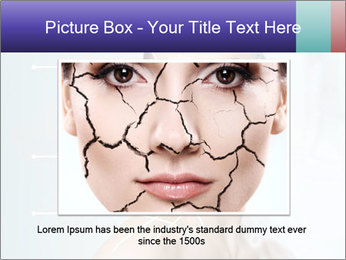 Beauty woman on the bathroom PowerPoint Templates - Slide 16