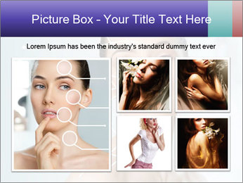 Beauty woman on the bathroom PowerPoint Templates - Slide 19
