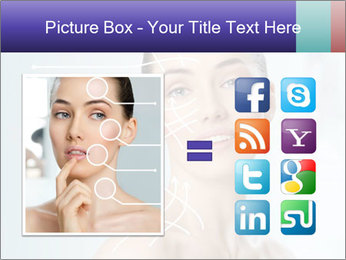 Beauty woman on the bathroom PowerPoint Templates - Slide 21
