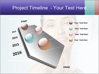 Beauty woman on the bathroom PowerPoint Templates - Slide 26