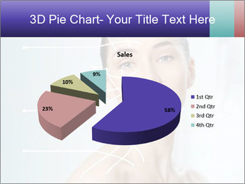Beauty woman on the bathroom PowerPoint Templates - Slide 35