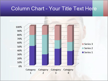Beauty woman on the bathroom PowerPoint Templates - Slide 50
