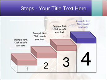 Beauty woman on the bathroom PowerPoint Templates - Slide 64