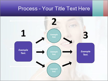 Beauty woman on the bathroom PowerPoint Templates - Slide 92