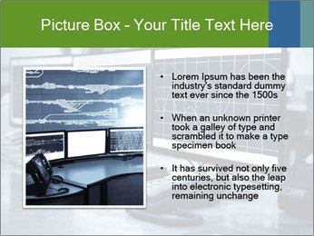 Modern plant control room PowerPoint Template - Slide 13