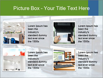 Modern plant control room PowerPoint Template - Slide 14