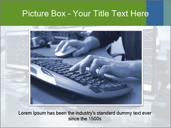 Modern plant control room PowerPoint Template - Slide 16
