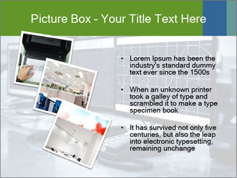 Modern plant control room PowerPoint Template - Slide 17