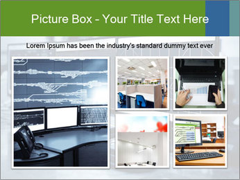 Modern plant control room PowerPoint Template - Slide 19