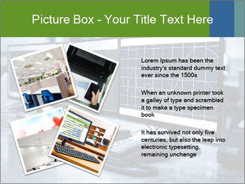 Modern plant control room PowerPoint Template - Slide 23