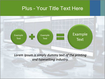 Modern plant control room PowerPoint Template - Slide 75