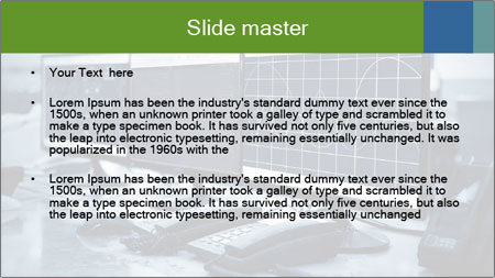 Modern plant control room PowerPoint Template - Slide 2