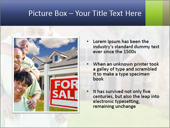 Happy African American Family PowerPoint Template - Slide 13