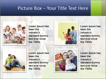 Happy African American Family PowerPoint Template - Slide 14