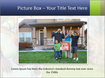 Happy African American Family PowerPoint Template - Slide 16