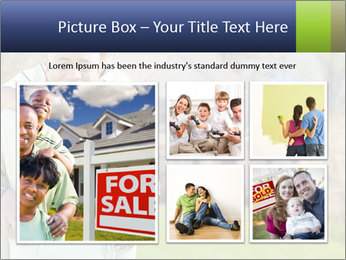 Happy African American Family PowerPoint Template - Slide 19