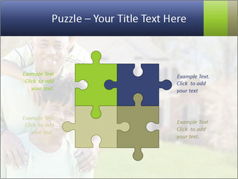 Happy African American Family PowerPoint Template - Slide 43