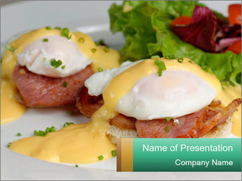 Eggs Benedict PowerPoint Template