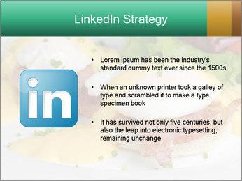 Eggs Benedict PowerPoint Template - Slide 12