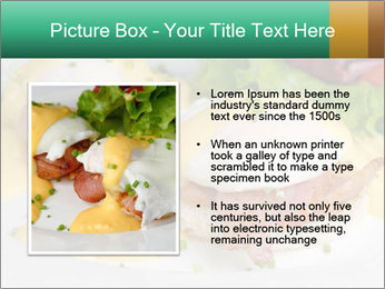 Eggs Benedict PowerPoint Templates - Slide 13