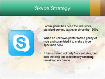 Eggs Benedict PowerPoint Templates - Slide 8