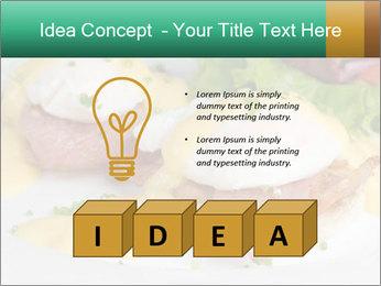 Eggs Benedict PowerPoint Template - Slide 80