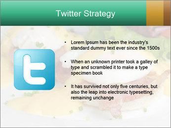 Eggs Benedict PowerPoint Templates - Slide 9