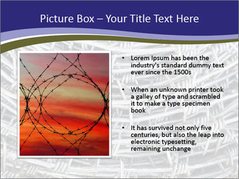 Stainless Barbed wire PowerPoint Template - Slide 13