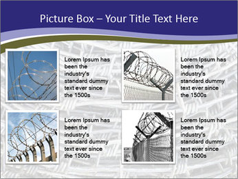 Stainless Barbed wire PowerPoint Template - Slide 14