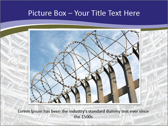 Stainless Barbed wire PowerPoint Template - Slide 15