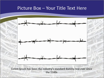 Stainless Barbed wire PowerPoint Template - Slide 16