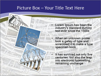 Stainless Barbed wire PowerPoint Template - Slide 17